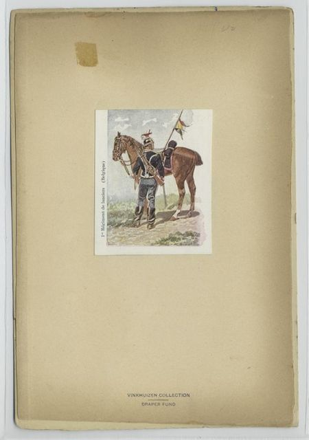 1-er Régiment de Lanciers (Belgique). 1897