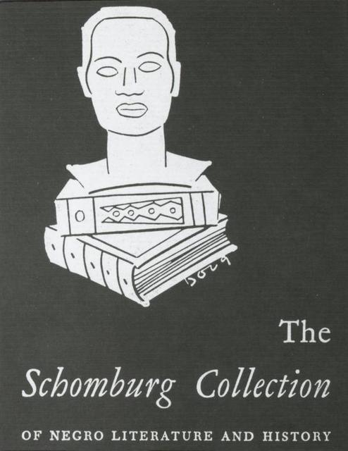 "[135th Street, Schomburg Room, ""The Schomburg Collection of Negro Literature and History"".]"