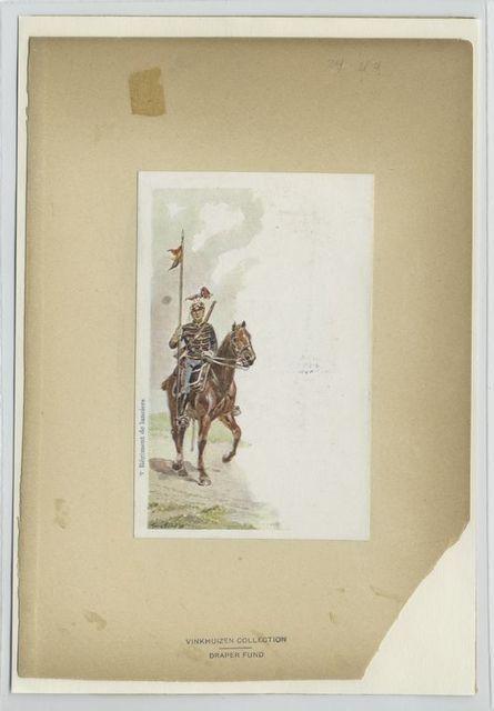 3-rd Régiment de Lanciers. 1897