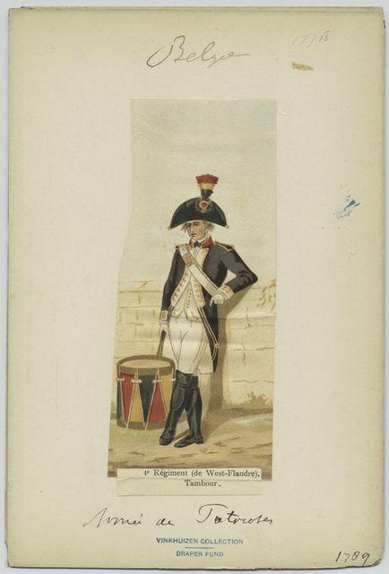 4e régiment (de West-Flandre). Tambour