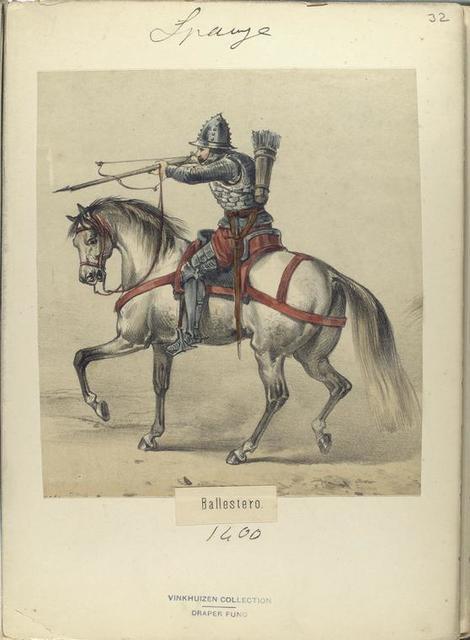 Ballestero ([Año] 1400).