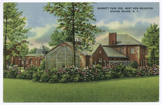 Barrett Park Zoo, West New Brighton, Staten Island, N.Y.