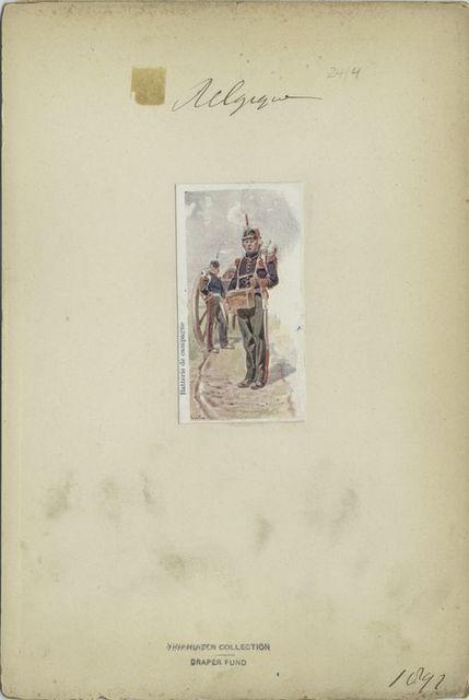 Batterie de campagne. 1897