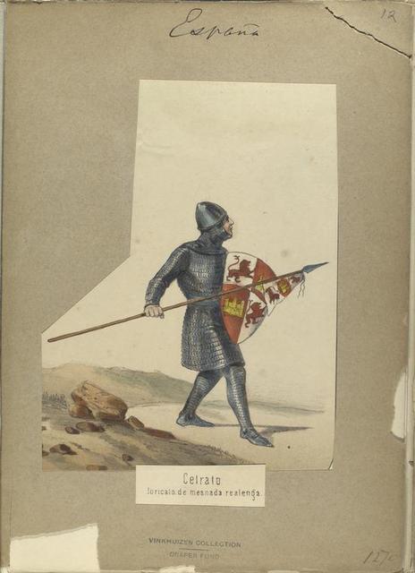 Cetrato, loricato de mesnada realenga. 1270