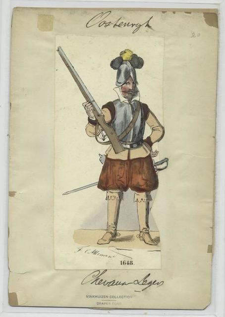 Chevaux Legers.  1648