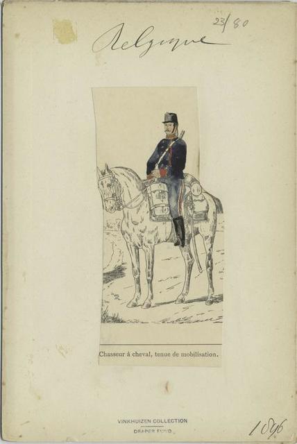 Chsseur à cheval tenue de mobilisation