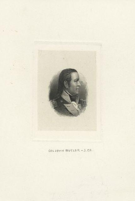 [Col. John Butler, S. Ca.]