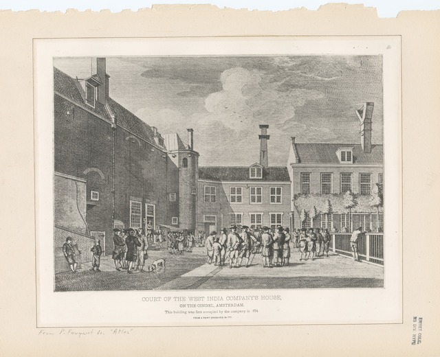 Court of the West India Company's House on the Cingal, Amsterdam