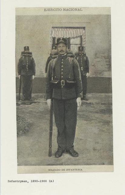 Ejercito nacional : Soldato de infanteria