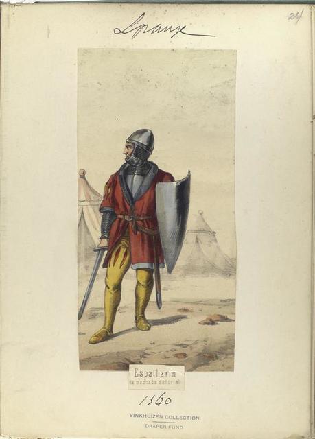 Espathario, de mesnada señorial  ([Año] 1360).