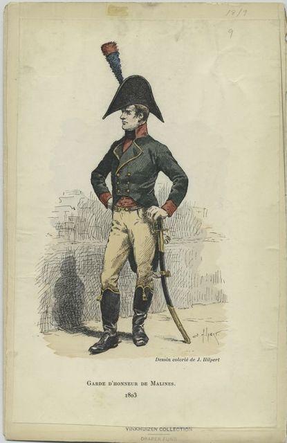 Garde d'honneur de Malines. 1803