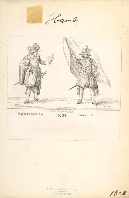Germany, Hamburg, 1619-1812.