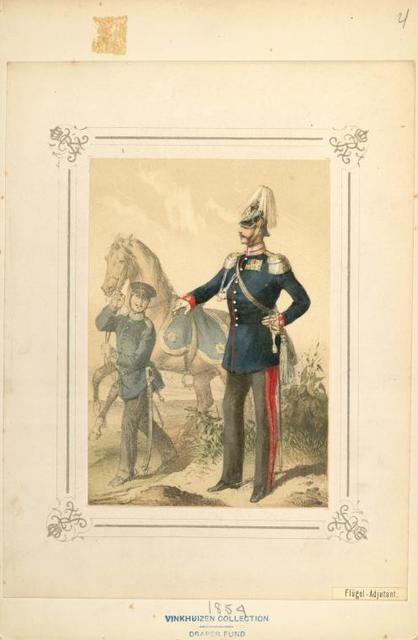 Germany, Prussia, 1854-1857