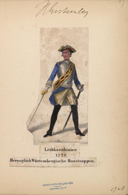 Germany. Wurtemberg. 1625-1735