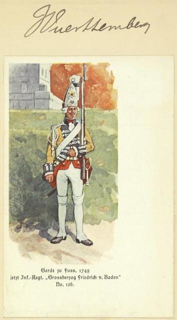 Germany. Würtemberg. 1769-1795