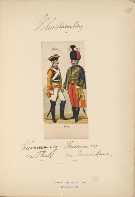 Germany, Württemberg, 1739-1767.