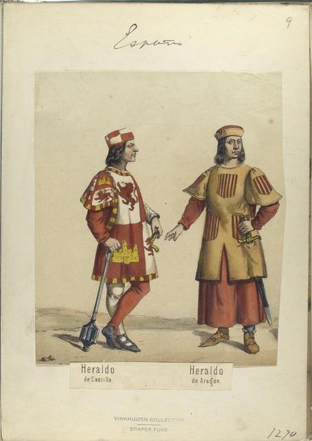 Heraldo de Castilla; Heraldo de Aragon. 1270