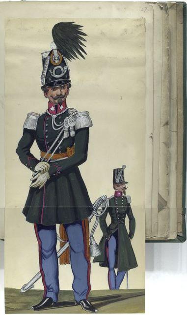Infanterie Offizieren 1842-1847, [...]
