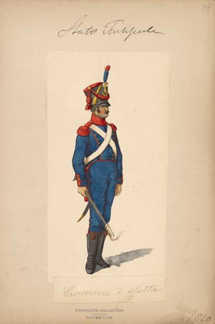 Italy. Papal States, 1820