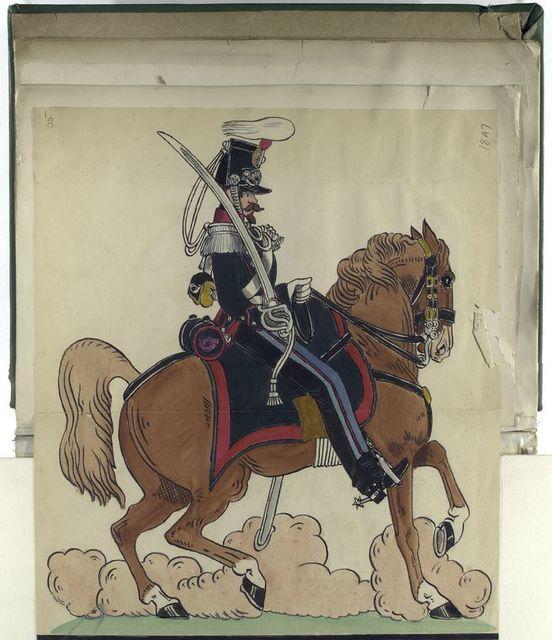 Jäger zu Pferd, 1847