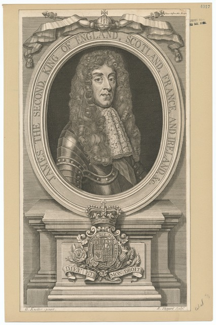 James the Second, King of England, Scotland, France and Ireland, etc.