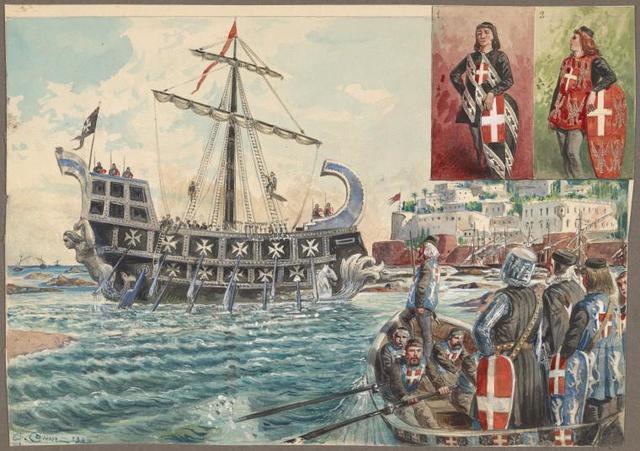 Knights of Malta, 1048-1799