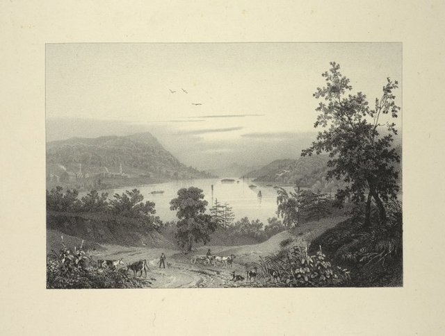 Lake George and the village of Caldwell