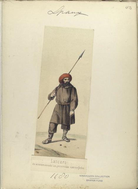 Lancero, de acostamiento de las provincias vascongadas ([Año] 1480).