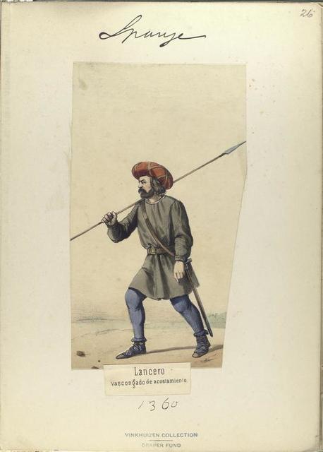 Lancero vascongado de ascostamiento   ([Año] 1360).
