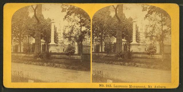Laurence monument, Mt. Auburn.