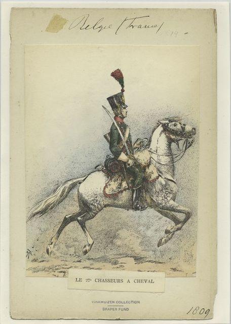 Le 27º chasseurs a cheval
