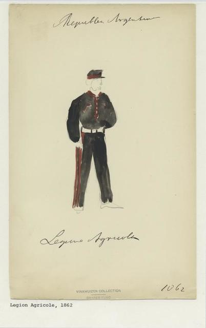 Legion Agricole, 1862