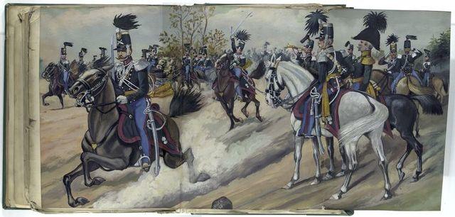 Luxemburgisches Kontingent, Feld-Artillerie, 1842-47