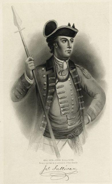 Maj. Gen. John Sullivan.