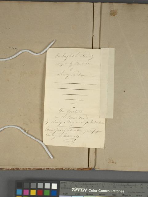 Manuscript notes on Amateur Theatre, Alton Towers, p. 4