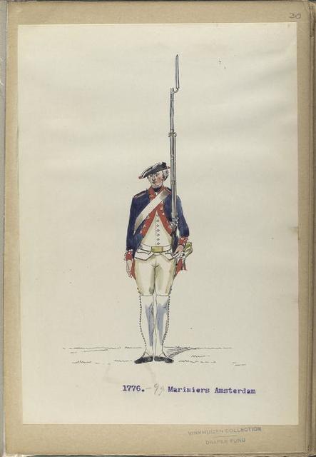 Mariniers Amsteredam. 1776-1795