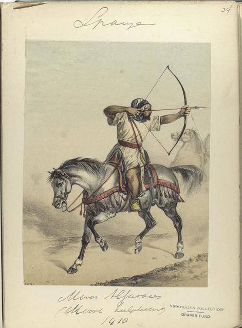 Moros Alfaraces... ([Año] 1410).