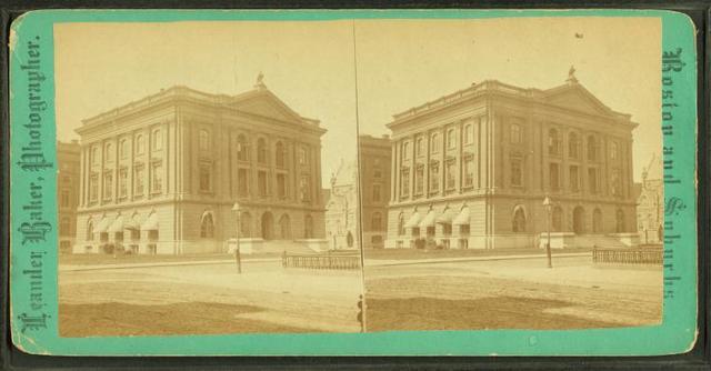 Natural history building.