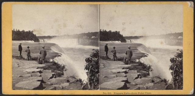 Niagara Falls, from Point View.
