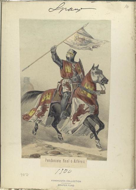 Pendonista Real ó Alferez  ([Año] 1300).
