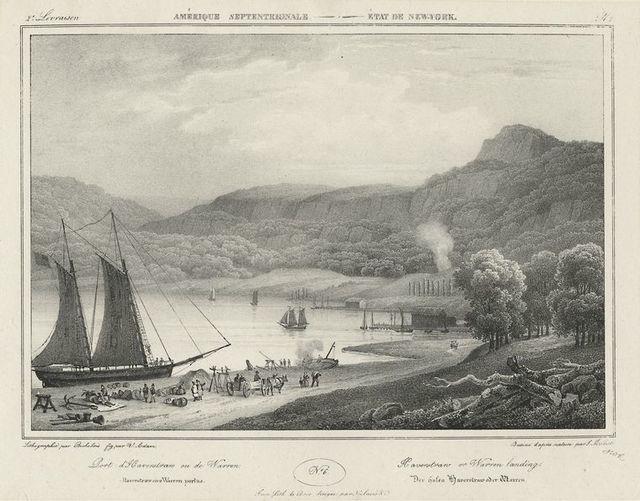 Port d'Haverstraw ou de Warren