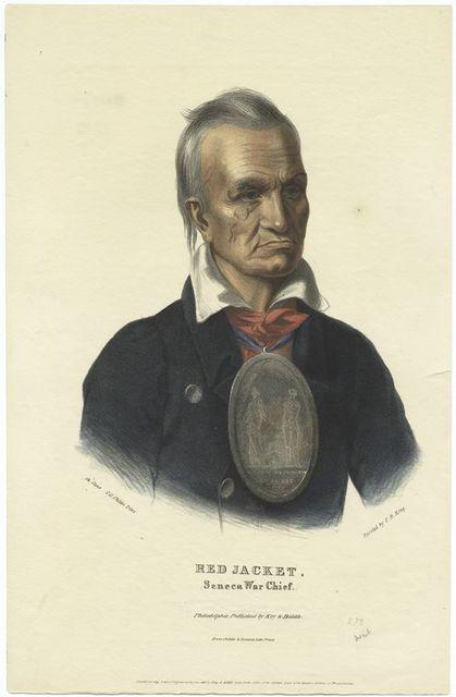 Red Jacket, Seneca war chief.