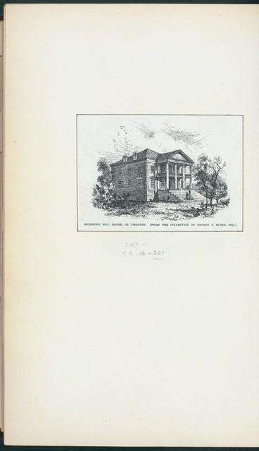 Richmond Hill House, or Theatre.