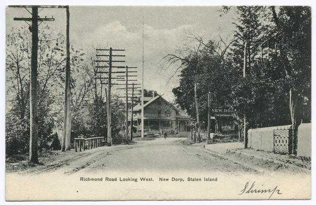 Richmond Road Looking West, New Dorp, Staten Island (street with