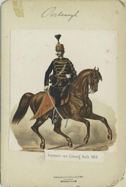 Rittmster von Coburg Huss. 1850