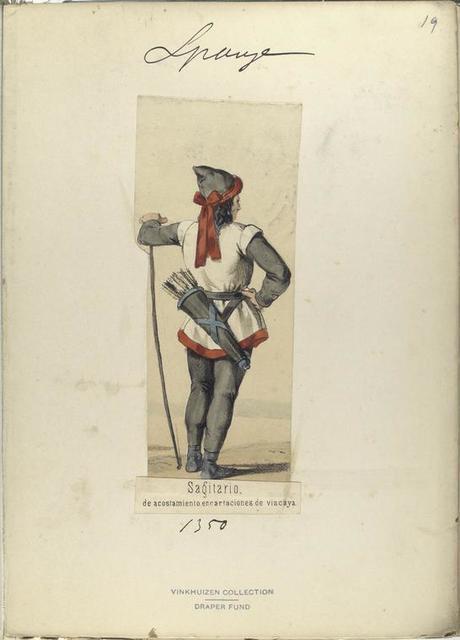 Sagitario, de acostamiento encartaciones de vizcaya ([Año] 1350).