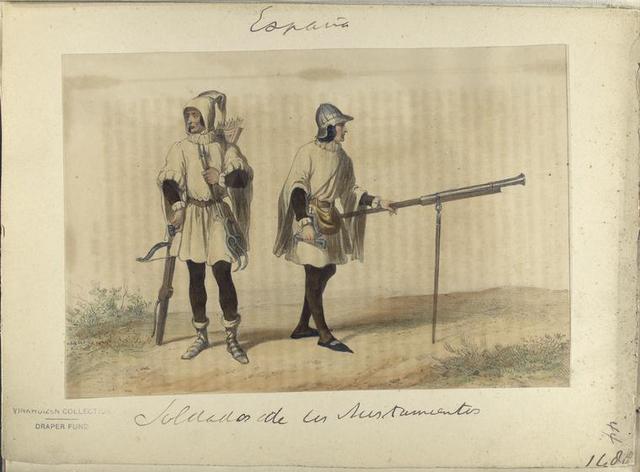 Soldados [...] ([Año] 1480).