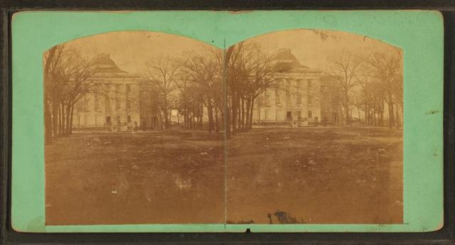 The Capitol at Raleigh, from the south.