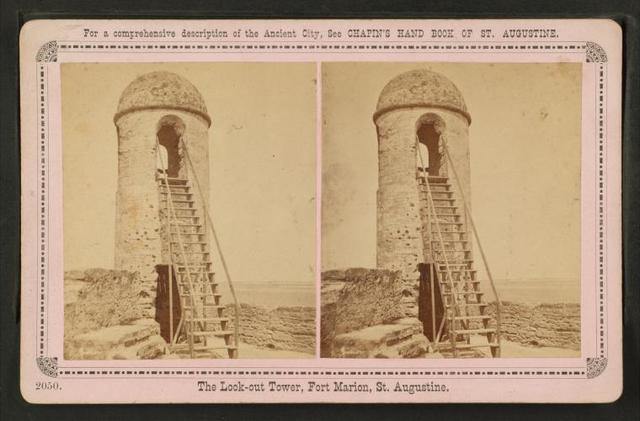 The Look-out Tower, Fort Marion. St. Augustine.
