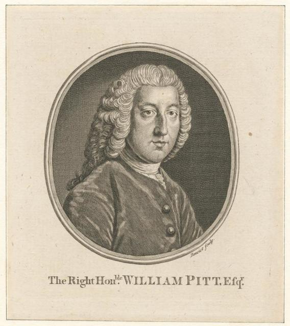 The Right Hon-ble William Pitt, Earl of Chatham.